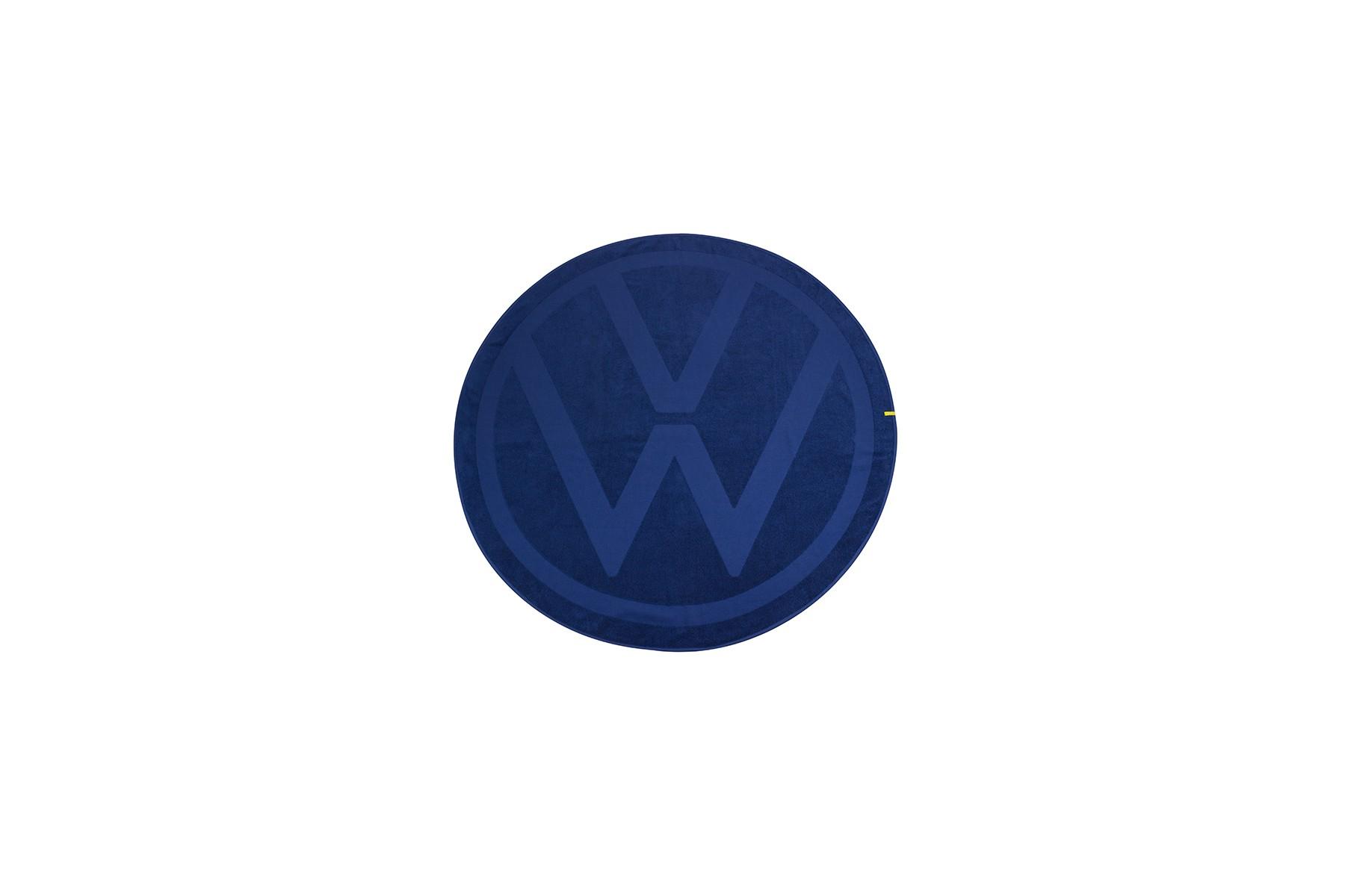Ręcznik okrągły, logo VW 140 cm