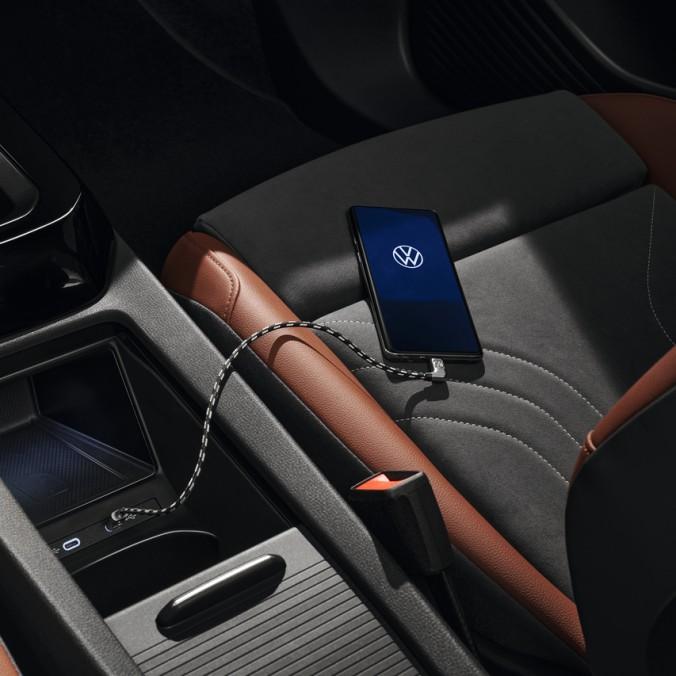 Przewód VW Premium USB-C na Apple Lightning, 70cm