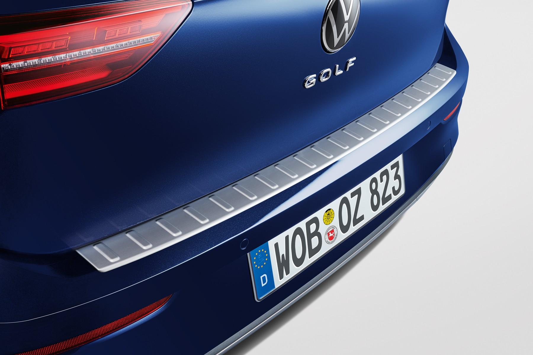 Listwa ochronna na zderzak Golf 8, srebrna