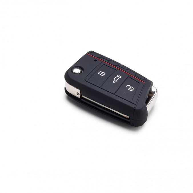 Etui na kluczyk z 3-przyciskami, Golf7 MQB, GTI design