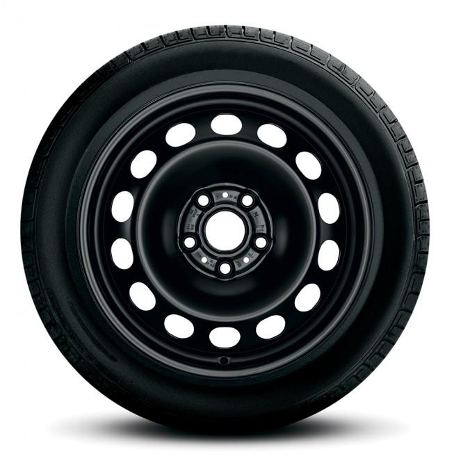 """Koło zimowe 'Golf 7/Var/Sportsvan 16"""" prawe z oponą Bridgestone"""