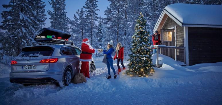 Volkswagen to gwarancja wesołych świąt. Świąteczny prezentownik VW.