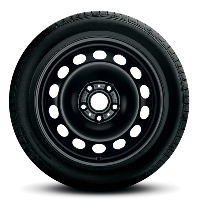"""Koło zimowe Passat B8  16"""" z oponą Pirelli, lewe"""