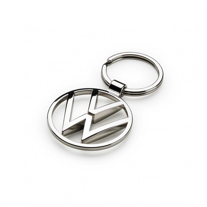 Brelok do kluczy nowe logo VW, srebrny